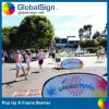 Globalsign Oval Horizontal Pop oben ein Frame Banners (UNI-A)