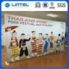6FT Banner Stand Aluminum Tension Fabric Display Stand (LT-24Q1)