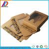 Verpakkende Vakje van het Document van Kraftpapier van de Vertoning van de Besnoeiing van de Matrijs van de douane het Kleinhandels Gerecycleerde met het Duidelijke Venster van pvc