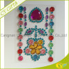 Blingbling Flower Acrylic Gem Crystal Sticker/Self Adhesive Sheet pour Furniture