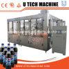 Bebida carbonatada pequeña máquina de llenado de líquido, máquina de llenado
