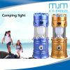 Grande potência Camping Luz Solar com ventilador Camping lanterna LED