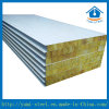 Feuerfestes Felsen-Wolle-Gras-Wolle-Sandwichwand-Panel für Aufbau