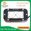 Кри 10Вт Светодиодные лампы на 5 дюйма 20W Одна строка напрямик светодиодный индикатор бар