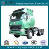 Sinotruk HOWO 10 Hoofd en Tractoren van de Aanhangwagen van Wielen de het Op zwaar werk berekende