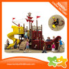 Trasparenza esterna del parco di divertimenti di serie della nave di pirata per i bambini