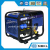 7kw de draagbare Elektrische Diesel van het Type van Begin Luchtgekoelde Open Reeks van de Generator met Wielen