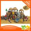 숲 나무위 집 아이를 위한 옥외 위락 공원 플라스틱 관 활주