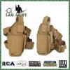La pierna táctica de la derecha del arma empaqueta la pistolera del arma de las correas de la cintura