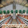 熱いすくい電流を通されたフレームの鋼鉄養鶏場の家