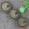 Производство металлических логотип джинсы , заклепки