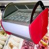 14PCS 팬을%s 가진 아이스크림 전시 냉장고