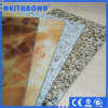 3mm 4mm Plastic Stone Wall Panel Marble ASP