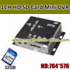 HD BR Card DVR Security Cameras met Motion Detection, Support Max 32GB BR Card