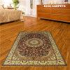 persa Rugs de 6X9ft Golden Flowerd Handmade Silk Rugs