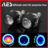 O melhor preço! Farol final do projetor H1 das lâmpadas do projetor de AES mini, mini lente H1 final