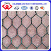 60X80mm Green Color PVC Coated Hexagonal Chicken Wire Netting