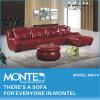 Home Mobiliário moderno sofá de couro