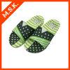 Poussoirs de Sandles de confort pour l'homme (impression verte MSK-SA809)