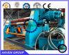 Высокие ролики дна quanlity W11H-35X3000 Дуг-Регулируют машину завальцовки плиты