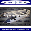 Barco inflável Bestyear e série de barcos de costela