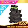 급료 7A 브라질 Body Wave 100%년 Virgin Human Hair Extensions