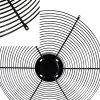 Les protections du ventilateur industriel Treillis Soudés Capot de ventilateur