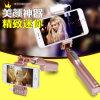 Fábrica original Bluetooth Selfie Stick o dia inteiro com luz de flash LED