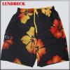 Shorts da praia dos homens da flor com boa qualidade