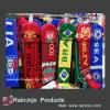 Высокое качество футбола шаль шаль и набор Beanie акрилового волокна