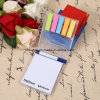 Het nieuwe Kleverige Stootkussen van het Memorandum met de Kalender van de Pen voor PromotieGift