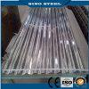 Hoja de acero galvanizada Qith acanalado para el material para techos