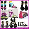 Alto Quanlity 2015 zapatos de alineada de las señoras/sandalias planas atractivas (D00802)