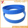 Kundenspezifisches Dobossed Firmenzeichen-Silikon-Armband für förderndes Geschenk