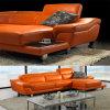 Meubles à la maison de salle de séjour de meubles, meubles en cuir de sofa avec le sofa faisant le coin