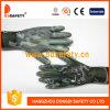7 puntini del PVC del nero del Knit della stringa del cotone del candeggiante del calibro che funzionano i guanti