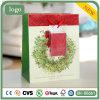 Мешок узла рождества бумажный, мешок подарка бумажный