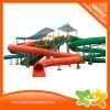 Matériel de jeu du parc d'eau géantes Piscine jouets Faites glisser une aire de jeux pour enfants