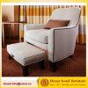 Il sofà del salotto del Chaise del sofà americano del villaggio/piedino di legno con resto del piede
