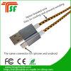 iPhone & 인조 인간 전화를 위한 1개의 USB 데이터 케이블에 대하여 공장 가격 2
