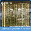 Governo d'attaccatura d'acciaio dorato del vino di Stainles dello specchio 8K per la barra