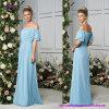 Платье с краткостью, втулки Bridesmaid --Плеча E18621 колокола которые оборачивают вокруг рукояток и тонких планок которые сидят на плечах