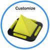 Многофункциональный гибкий держатель телефона пирамидки силикона