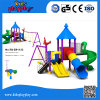 Neuer kundenspezifischer Kind-Unterhaltungs-Geräten-im Freienspielplatz mit Plättchen