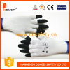 Ddsafety 2017 Jauge 13 Demi-doigt en nylon blanc Gants de travail