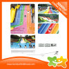 Piscina gigante Rainbow flotante tobogán de agua de plástico para niños y adultos