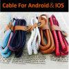 5 색깔 신식 PU 가죽 1m USB 비용을 부과 데이터 케이블