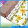 Материал ПВХ виниловых наклеек для печати (140 г/кв.м)