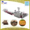Máquina compuesta de madera plástica de la protuberancia de la cerca del suelo del PE del PVC de WPC