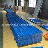 la anchura de 1050 milímetros prepintó PPGL acanalado coloreado PPGI para el material para techos del metal